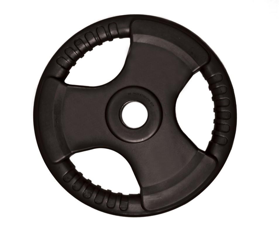discos-olimpico-ahulado-profesional-uso-rudos-plastificado-negro