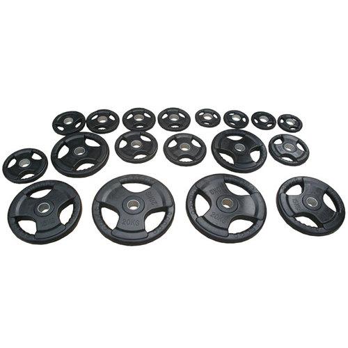 discos-olimpico-ahulado-profesional-uso-rudos-plastificado